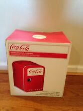 Coca Cola in Bottles Mini Retro Fridge in Red  STILL in Box