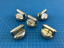 Genuine Frigidaire Range Oven Surface Burner Knob 316564509 Set of 5