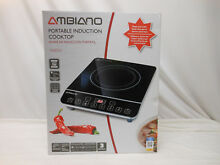AMBIANO  NEW  PORTABLE INDUCTION COOKTOP  1800W