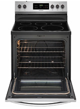 Frigidaire FFEF3054TS  30  Stainless Steel Electric Range  Self Cleaning Oven