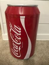 Coca Cola Koolatron CC10G Can Shaped 8 Can Capacity Fridge  Red