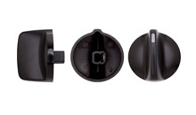 540778P GENUINE FISHER   PAYKEL COOKTOP KNOB  Black   Pkt 4