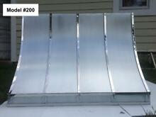 Zinc Hood Range Hood for La Cornue  Fan Incl  Custom Sizes All Metals Model  200