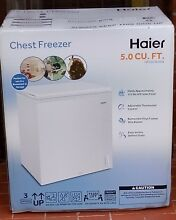 Haier 5 0 cu ft  Capacity Chest Freezer  HF50CW20W New