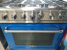 CAPITAL MCR366N 36  Stainless Steel Gas Range  Blue