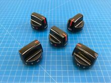 Genuine Frigidaire Range Oven Surface Burner Knob 5304507386 Set of 5
