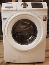Samsung 4 2 cu ft Front Loading Washing Machine White 8 Cycle High Efficiency