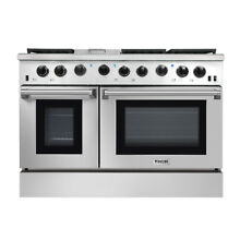 Thor 48  Gas Range Free Standing 6 Burners Cooktop 6 8 cu ft Oven Steel LRG4801U