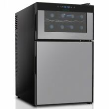 Wine Cellar   Can Beverage Cooler Refrigerator with Digital Touchscreen Controls