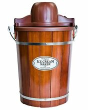 Ice Cream Machine 6 Qt Quart Maker Electric Home Made Old Fashioned