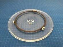 Genuine KitchenAid KMCC5015GSS0 Microwave Oven Turntable Glass Plate Y121
