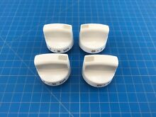 Genuine Kenmore Range Oven Surface Burner Knob 316218400 Set of 4