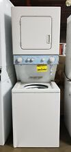 Whirlpool LTG5243DQ 24  Combination Washer Gas Dryer   White