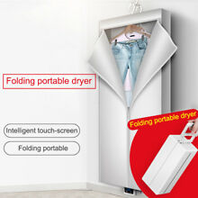 Portable Clothes Dryer Electric Laundry Drying Rack Foldable Dryers