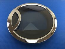OEM GE front load dryer DOOR OUTER RING PLATED WE1M705   WE1M578