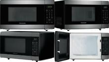 Frigidaire 1 4 Cu  Ft  Black Stainless Steel Microwave Oven