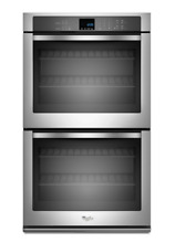Whirlpool WOD51ECOAS 10 cu  ft  Double Wall Oven with extra large oven window