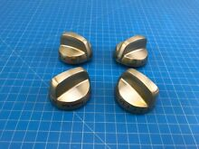Genuine GE Range Oven Surface Burner Knob WB03K10317 WB03K10318 Set of 4