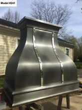 Zinc Range Hood for La Cornue  Fan Incl  Custom Sizes Available   Model  241