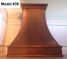 Copper Custom Hood  Vent Motor Incl  Wall Or Island Hood   Model  38