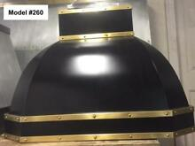 Black Range Hood  La Cornue  Fan Incl  Custom Sizes Available   Model   260