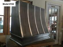 Zinc Hood  Range Hood for La Cornue  Fan Incl  Custom Sizes Avai    Model  162