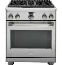 GE Monogram Stainless Steel Kitchen Appliances
