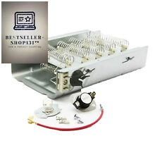 Dryer Heating Element for Whirlpool Kenmore Maytag w Thermostat Kit Fuse 3403585