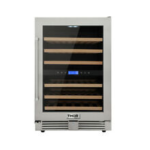 24 inch Thor 46 Bottles Wide Built In Dual Zone Outdoor Wine Cooler 5 43cu ft