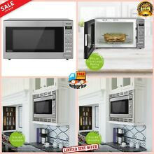 Panasonic Microwave Oven 1250 Watt  2 2 cubic foot Kitchen Countertop Built In