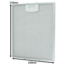 Aluminium Mesh Grease Filter for BOSCH NEFF SIEMENS Cooker Hood 250 x 310mm