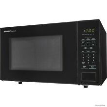 Sharp SMC1131CB Microwave Oven   Single   8 23 gal Capacity   Microwave   1000