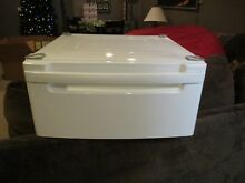 ONE  1  LG WDP3W g 27  Washer Dryer Pedestal White LG WITH HARDWARE