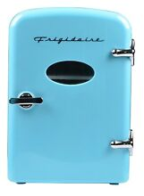 Frigidaire Mini Retro Beverage Fridge  Blue