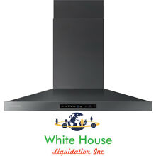 SAMSUNG 36  Wall Mounted Chimney Range Hood with 600 CFM Blower NK36K7000WG