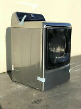 LG 9 0 cu ft  Electric Dryer with EasyLoad and Steam Graphite Steel   DLEX7700VE