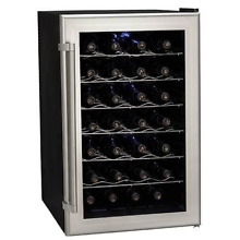 Koldfront TWR282S 28 Bottle Ultra Capacity Thermoelectric Wine Cooler   Platinum