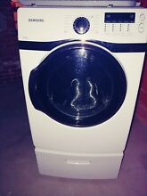 Samsung VRT Steam Front Load Washer and Dryer
