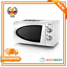 Swan 20L Manual Microwave 800W In White   SM3090N
