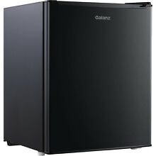 Black Dorm Refrigerator Galanz 2 7 Cu Ft Single Door Mini Fridge Heavy Duty New