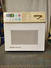 Sharp R 1A56 Carousel Half Pint Compact Microwave  small space appliance