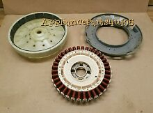 Whirlpool Kenmore Washer Motor Cabrio Rotor 280146 Stator W10419333   Sheild