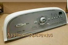 W10269599 Whirlpool Cabrio Washer console with Control Board