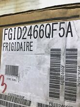 24  Built In Dishwasher  Stainless Steel FRIGIDAIRE FGID2466QF