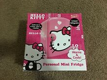 HELLO KITTY PINK PERSONAL MINI FRIDGE COMPACT BRAND NEW SEALED