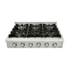 36  THOR KITCHEN Stainless HRT3618U Gas Cooktop Rangetop  Six Burners