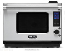 Viking Pro VCSO210SS 1 1 cu  ft  Countertop Combi Steam Convect Oven New In Box