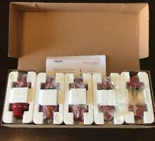Wolf Gas Range Knob Set Of 10 All Red New