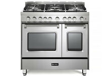 Verona Prestige VPFSGG365DSS 36  All Gas Range Double Oven 5 Burner Stainless