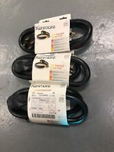 Lot of 3 Kenmore 49696 5Ft  Electrical Range Cord 50 Amp 4 Wire Prong Heavy Duty